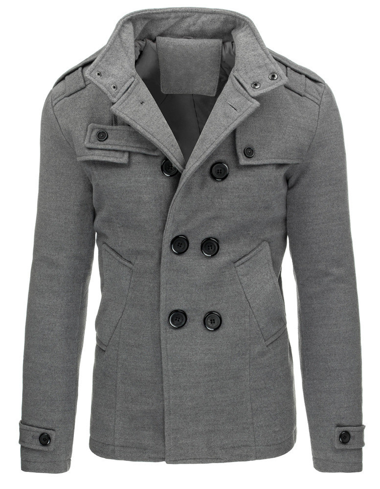 Męski płaszcz niejedno ma imię