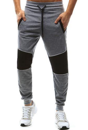 spodnie dresowe dwukolorowe